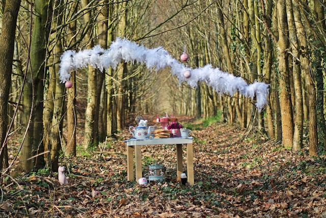 anniversaire, forêt,  DIY, our little family, perle des loisirs