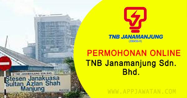 Jawatan Kosong di TNB Janamanjung Sdn. Bhd. - 3 Disember 2018