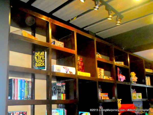 Book And Borders: Library-Themed Coffee Shop