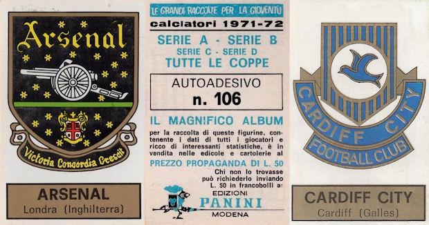 LL FIGURINA CALCIATORI PANINI 1971//72 IDENTIQUIZ NUMERO 18