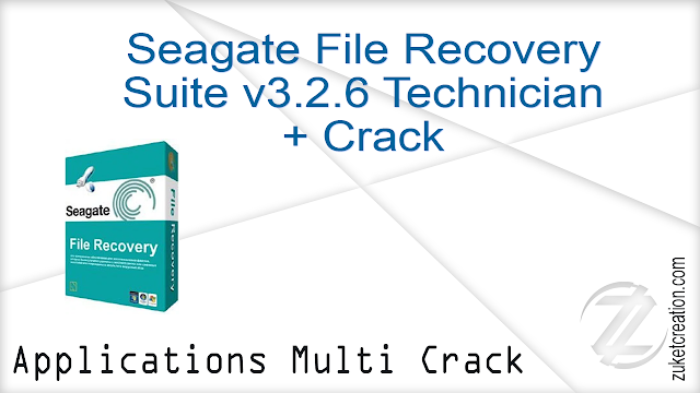 Seagate File Recovery Suite v3.2.6 Technician + Crack    |  41,6 MB
