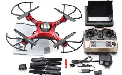 Spesifikasi JJRC H8D Drone - GudangDrone
