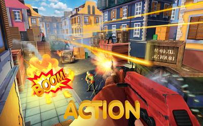pada kesempatan kali ini admin akan membagikan sebuah game mod apk terbaru yang bergenre  Guns of Boom - Online Shooter v3.1.4 Mod Apk (Ammo + No reload)