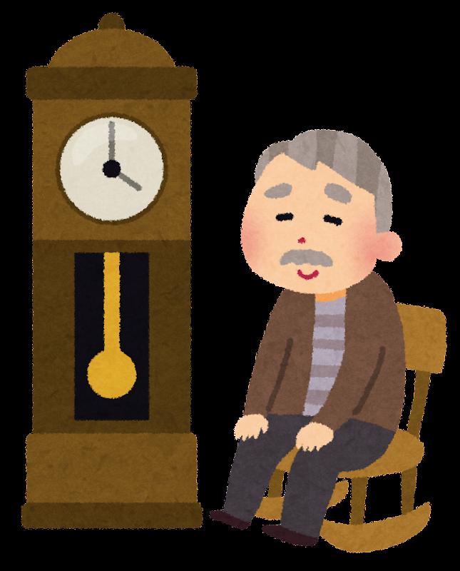 年賀状 年賀状の文字 : アメリカの童謡「大きな古時計 ...