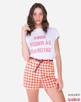 Camiseta feita em malha de algodão fio 30