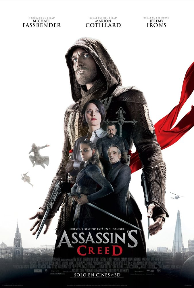 Assassin's Creed Movie Poster HD