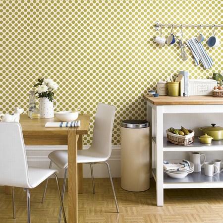 Wallpaper Untuk Dapur Memiliki Berbagai Pola Jika Anda Ingin Menutup Semua Dinding Di Dengan Yang Terbaik Adalah Memilih Satu