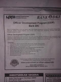 Lowongan Kerja BUMN Bank Terbaru Bank DKI