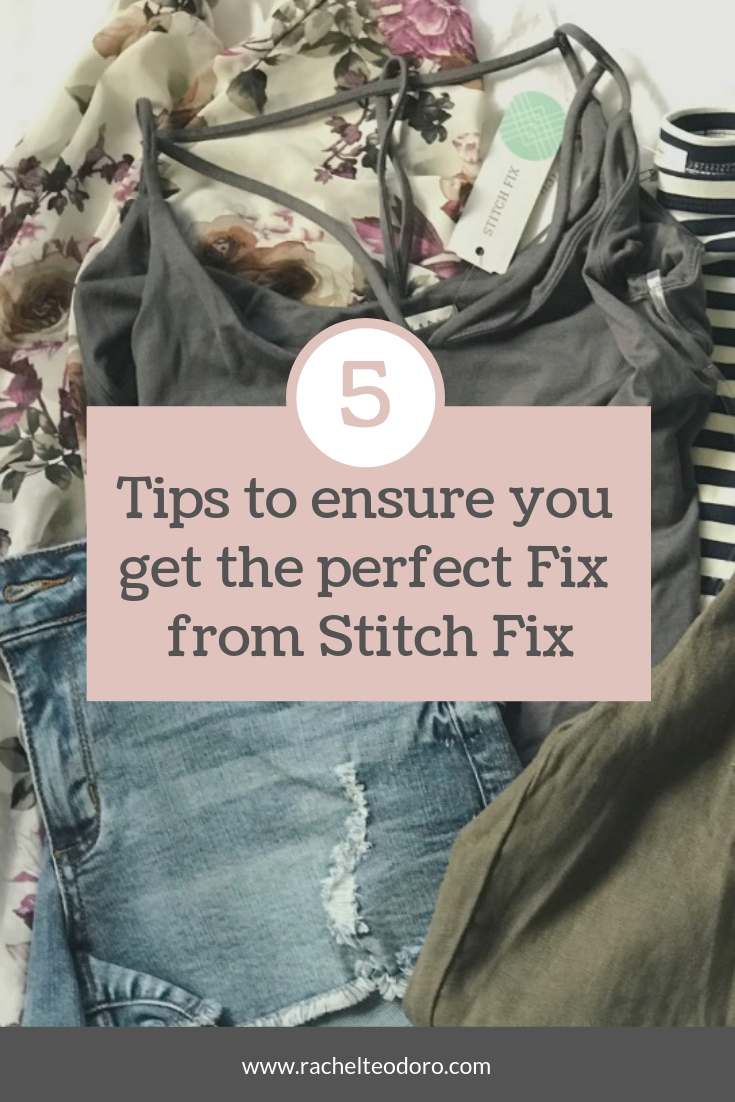 tips to the perfect stitch fix subscription stylist box