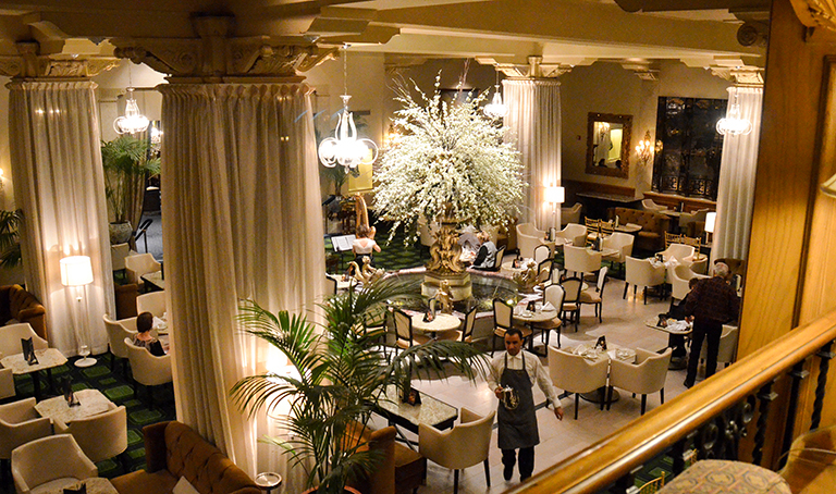 Afternoon Tea In The Palm Court At Drake Hotel Chicago