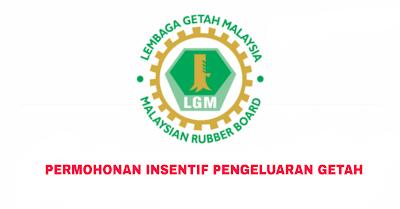 Permohonan Insentif Pengeluaran Getah (IPG) 2019 Online