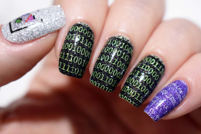 Espionage Cosmetics Computing nerdy nail wraps