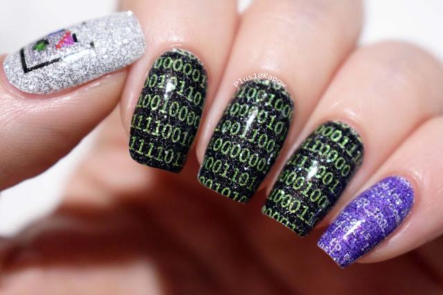 Espionage Cosmetics Computing nerdy nail wraps