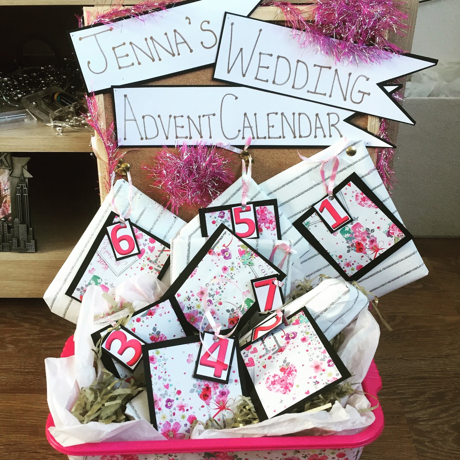Wedding Advent Calendar Whats Inside Jenna Suth