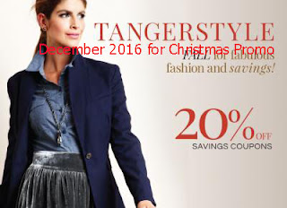 Tanger Outlet coupons december 2016
