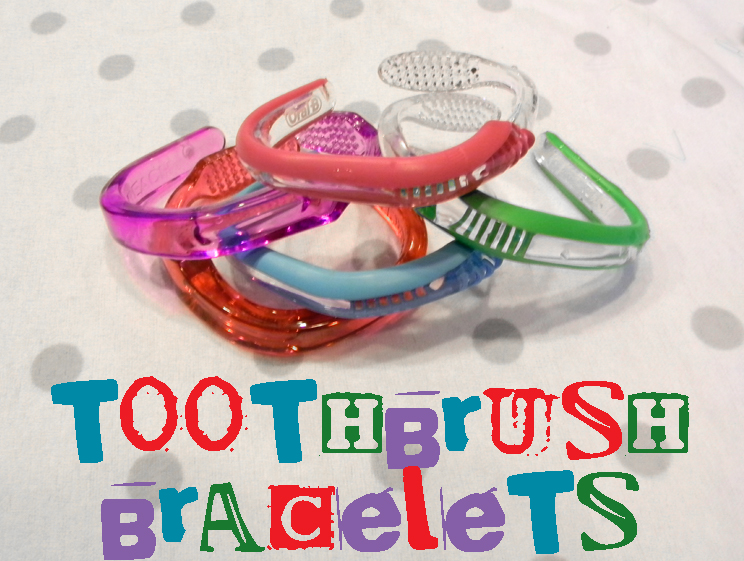 Omtwi Kids Craft Toothbrush Bracelets Tutorial