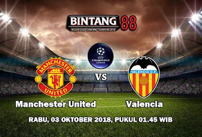 Prediksi Manchester United vs Valencia 3 Oktober 2018