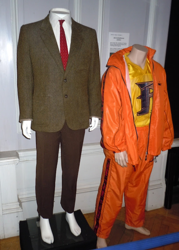 Mr Bean and Ali G movie costumes