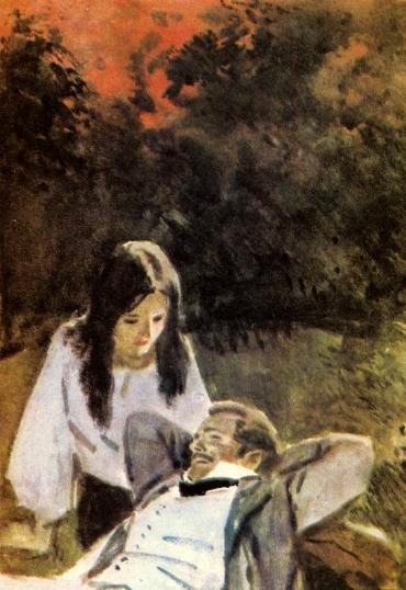 Колдунья» (фр. La sorcière, 1956г фильм-мелодрама по повести а.