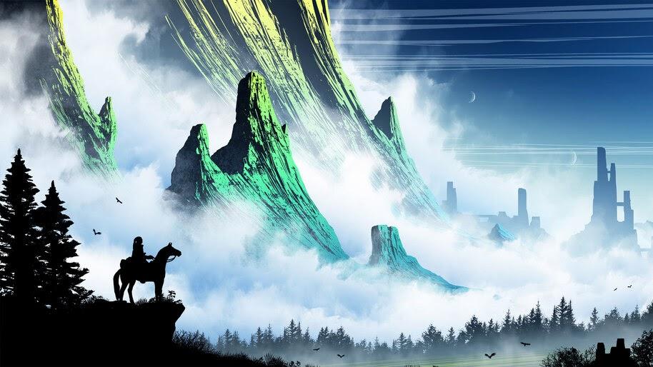 Fantasy, Scenery, Landscape, Digital Art, 4K, #4.1002