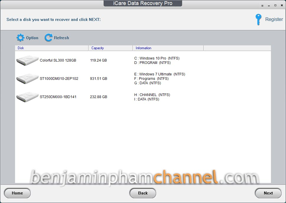 download icare data recovery portable