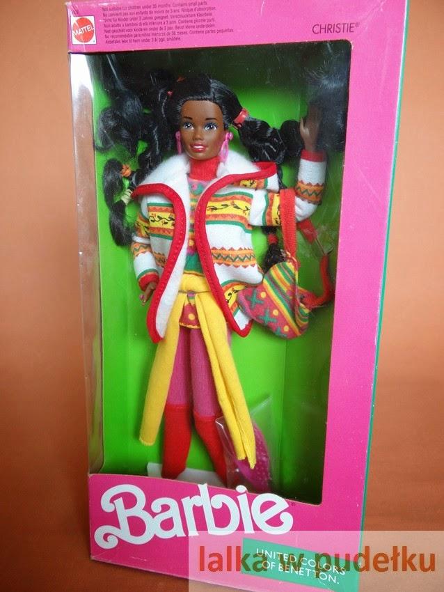 c07f16add4cf65 lalka w pudełku**: United Colors of Benetton Christie® 1990