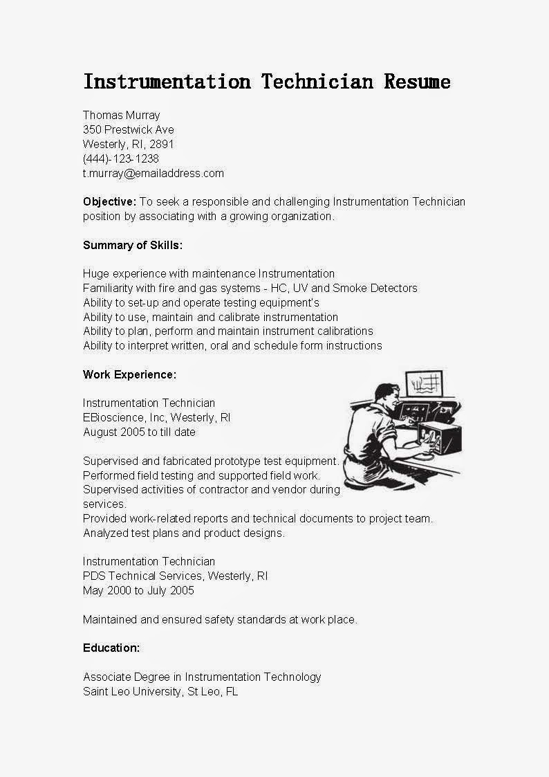 requirements for resumes