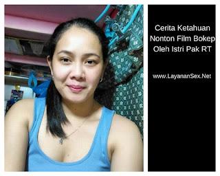 Cerita Ketahuan Nonton Film Bokep Oleh Istri Pak RT