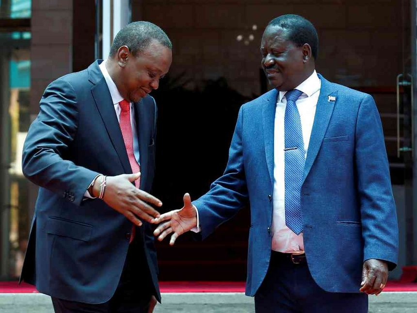 Uhuru Kenyatta Set To Nominate Raila Odinga As African Union Special Envoy