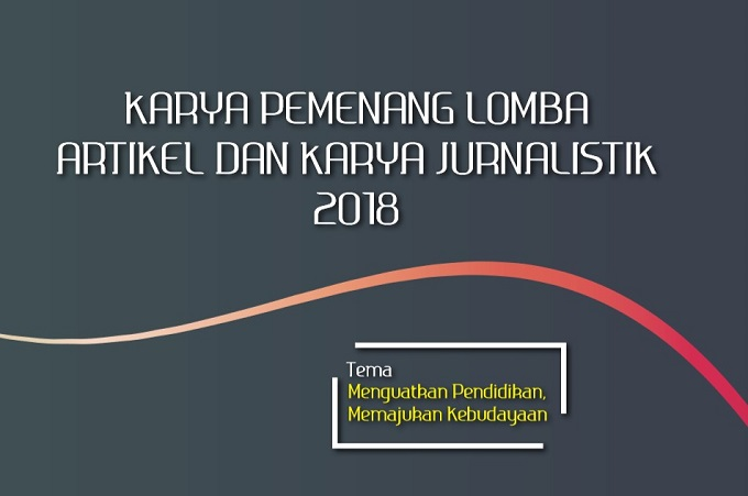 Juara 1 Lomba Artikel Kemdikbud 2018