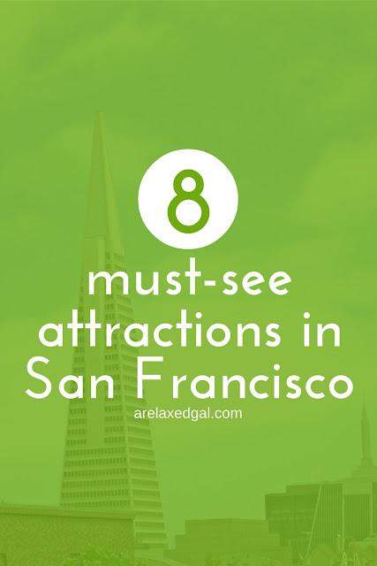 Before visiting San Francisco check out this list of eight must-see San Francisco attractions. | arelaxedgal.com