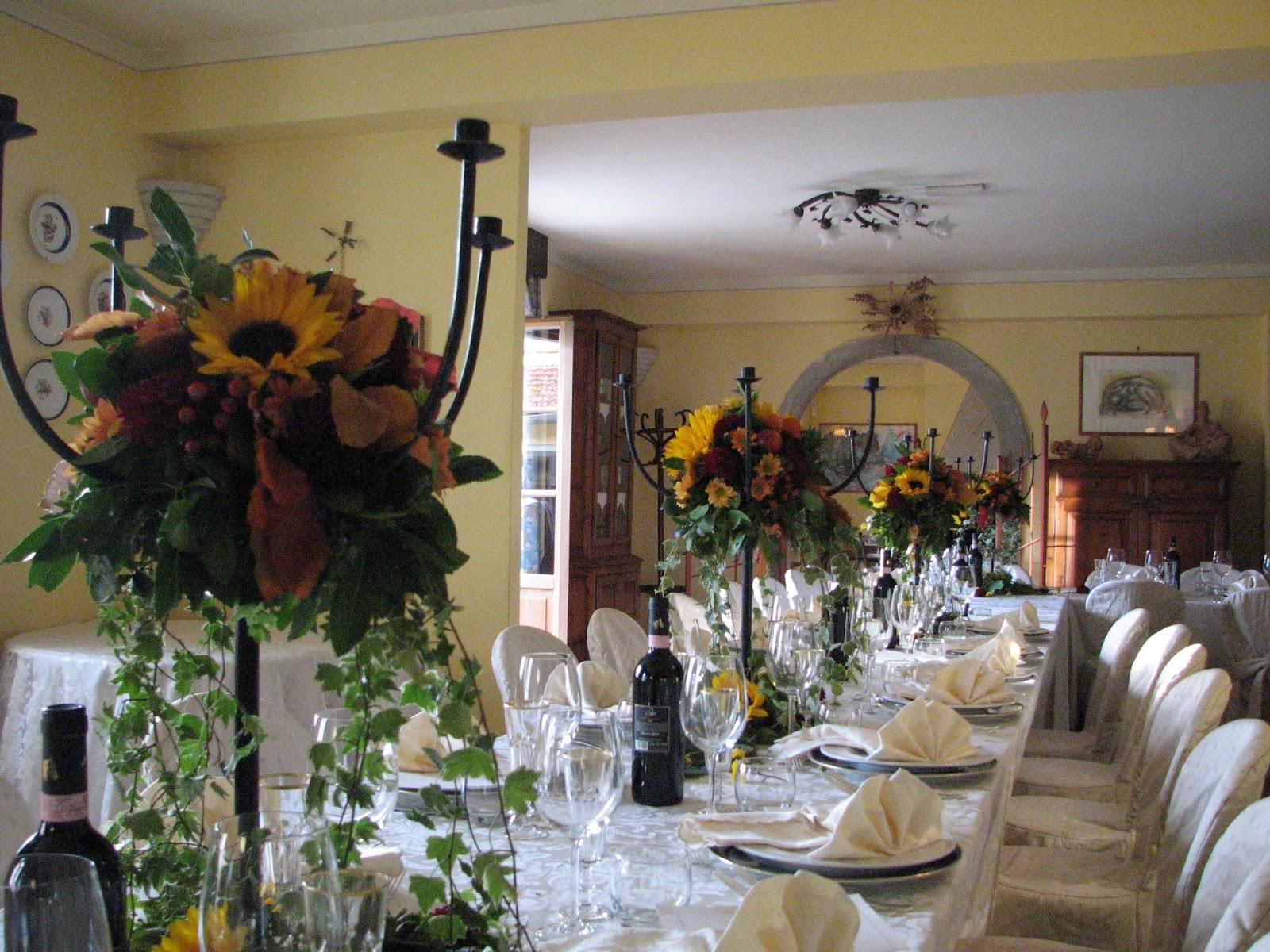 Wedding in Tuscany - Poppi: The Wedding Table settings