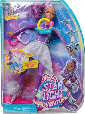 TOYS : JUGUETES - BARBIE   Una Aventura Espacial - Sally  Muñeca con Luz y Sonidos  Star Light Adventure - Sally : Doll  Producto Oficial Película 2016 | Mattel DLT23 | A partir de 3 años  Comprar en Amazon España & buy Amazon USA