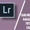 Cara Memperbaiki Gagal Import Foto Di Lightroom Android