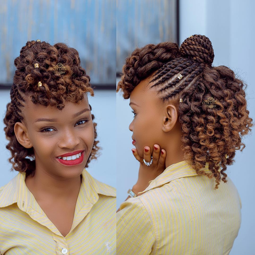 Wedding In Kenya With Twist Hair Style: 18 Flat Twist Styles For Natural Hair That'll Liven Up