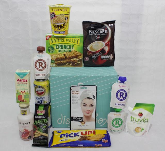 Disfrutabox Agosto caja mensual 2018
