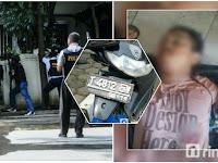 Teror Cicendo Aneh, Pembonceng Pelaku ledakan Sengaja Tinggalkan Sepeda Motor di TKP