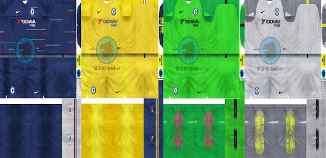 Chelsea Fc 2018/19 Kits - Foot 6 1