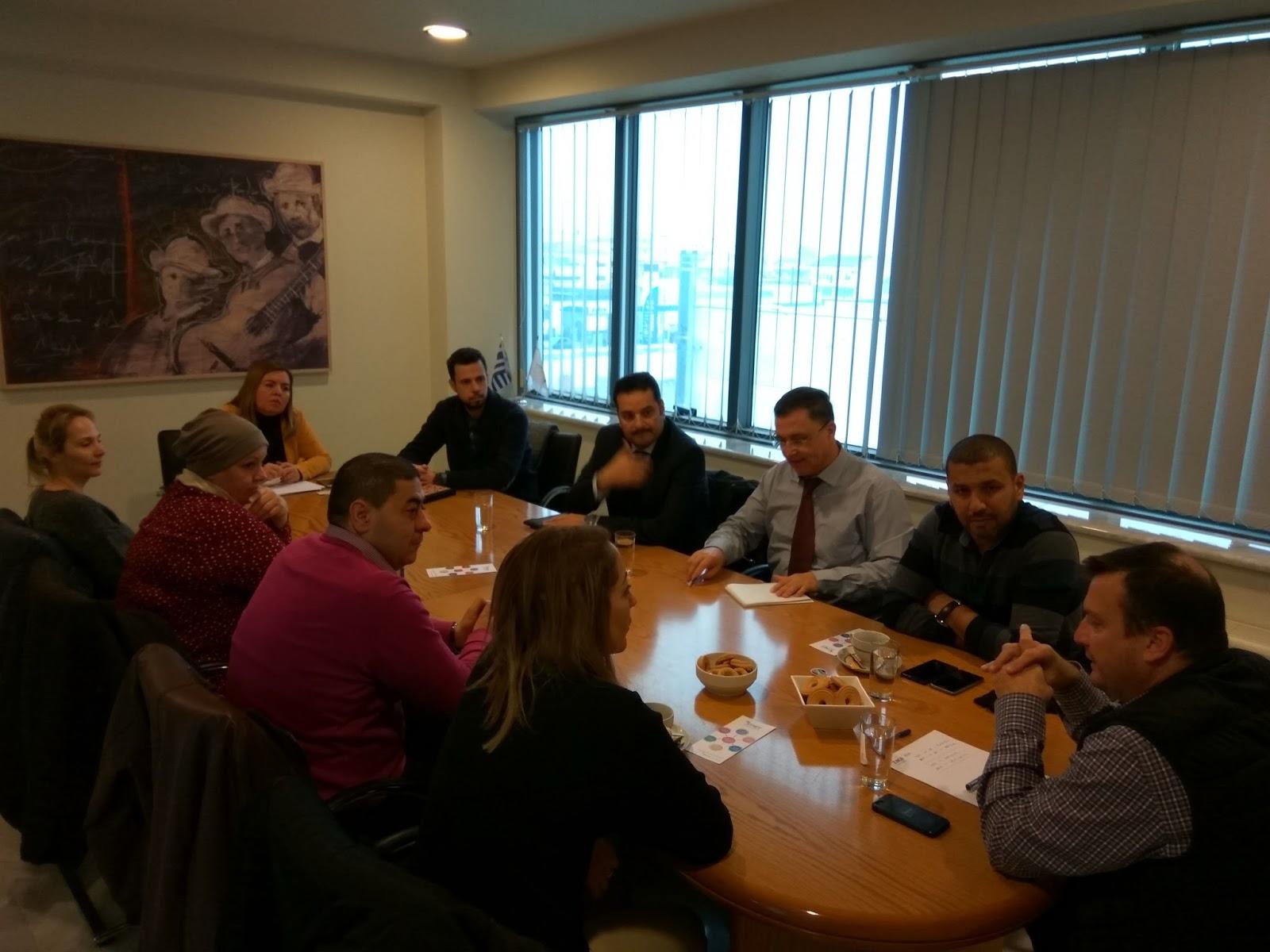 Συνάντηση του ΣΘΕΒ με εκπροσώπους Πανεπιστημίων από την Τυνησία