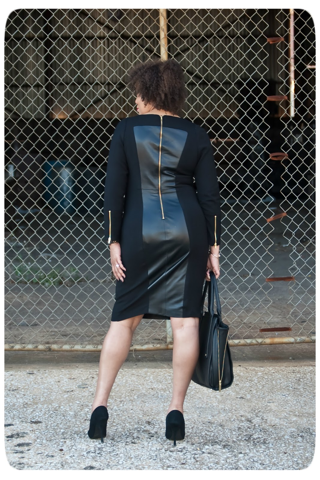 Leather Dress - Fall 2018 Trends - Erica Bunker DIY Style!