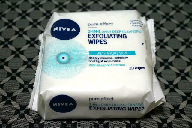 Nivea 3in1 Exfoliating Wipes