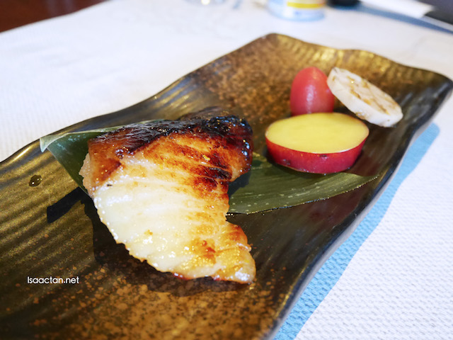 "Grilled White Miso marinated Butter Fish ""Saikyo Yaki"""