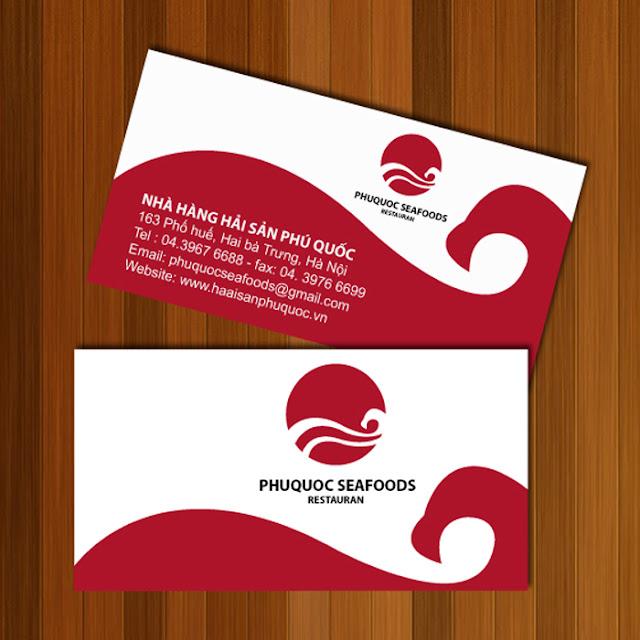 Card Visit tại học Illustrator tại Quốc Oai