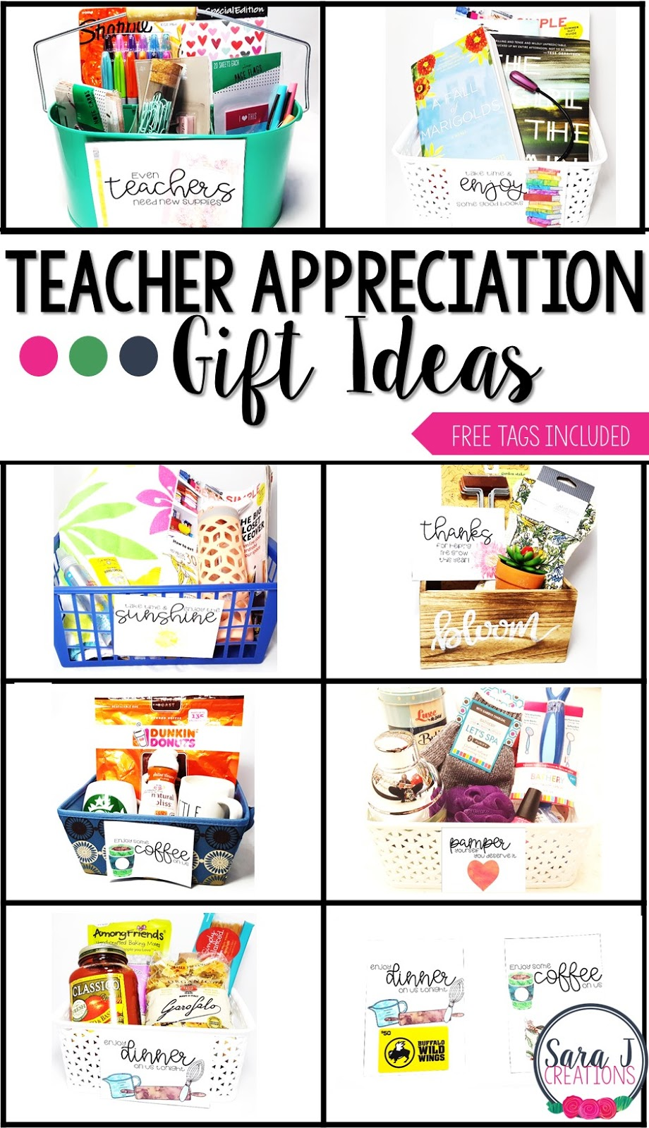 teacher appreciation gift ideas  cards  classroom freebies