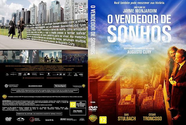 Capa DVD O Vendedor de Sonhos [Exclusiva]