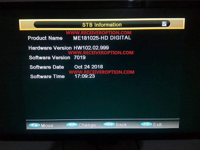 ALI3510C HARDWARE VERSION HW102.02.999 POWERVU KEY NEW SOFTWARE BY USB