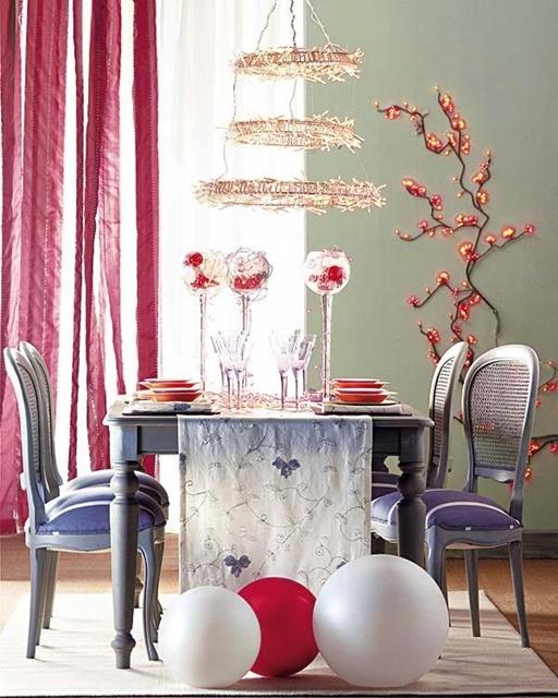 decorar mesa natal