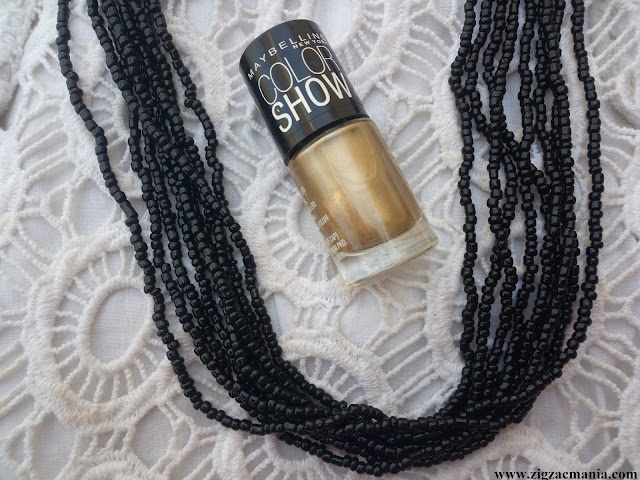 Maybelline Color Show Nail Lacquer Bold Gold (008) Review