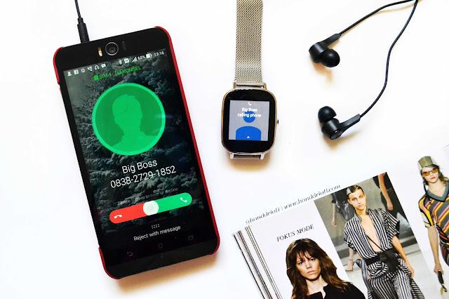 zenwatch 2 terkoneksi dengan zenfone selfie