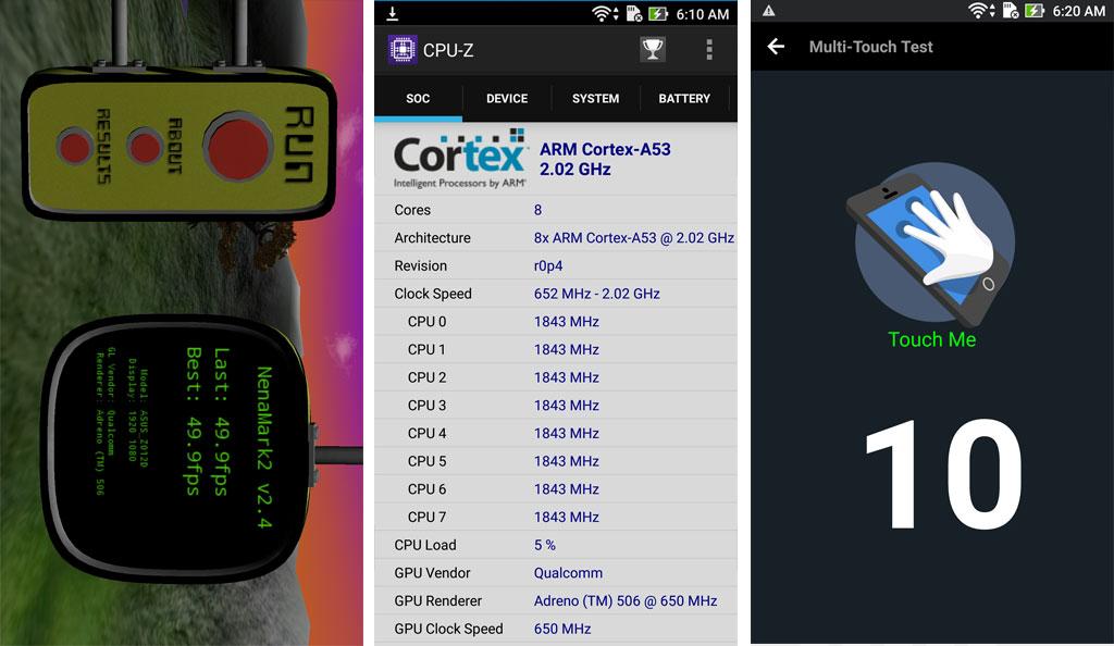 ASUS Zenfone 3 5.5 (ZE552KL) Benchmark Scores